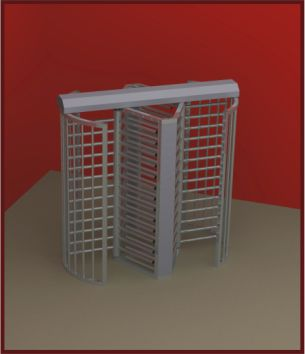 Turnstiles Double Full Height ProdImg